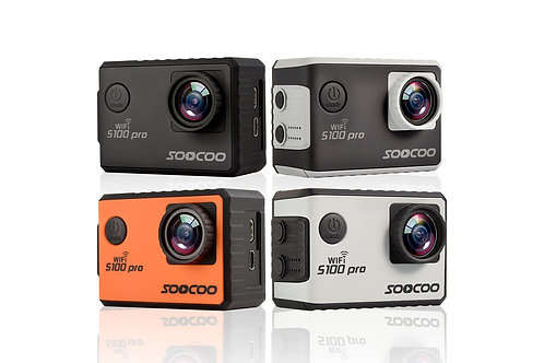 S100pro Voice Control Wifi 4K Action Camera - SOOCOO