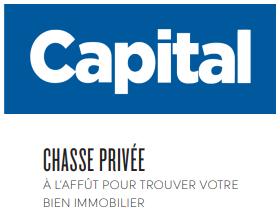 Un chasseur immobilier de confiance dans la revue Capital