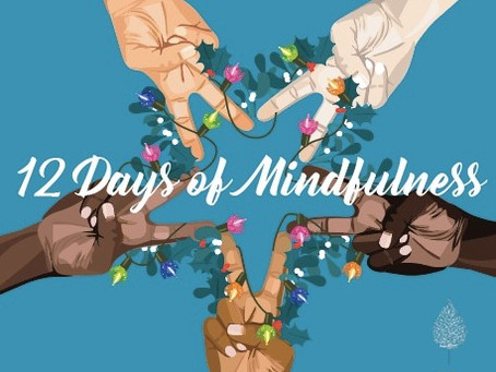 12 Days of Mindfulness and SAMH