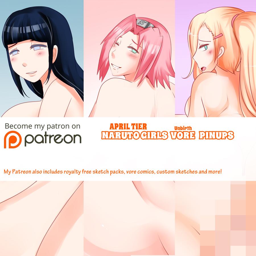 Naruto Unbirth Vore - 3 illustration