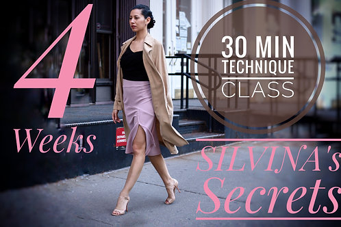 Silvina's Secrets 4 weeks
