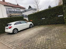 Apartment-Remseck Parkplatz