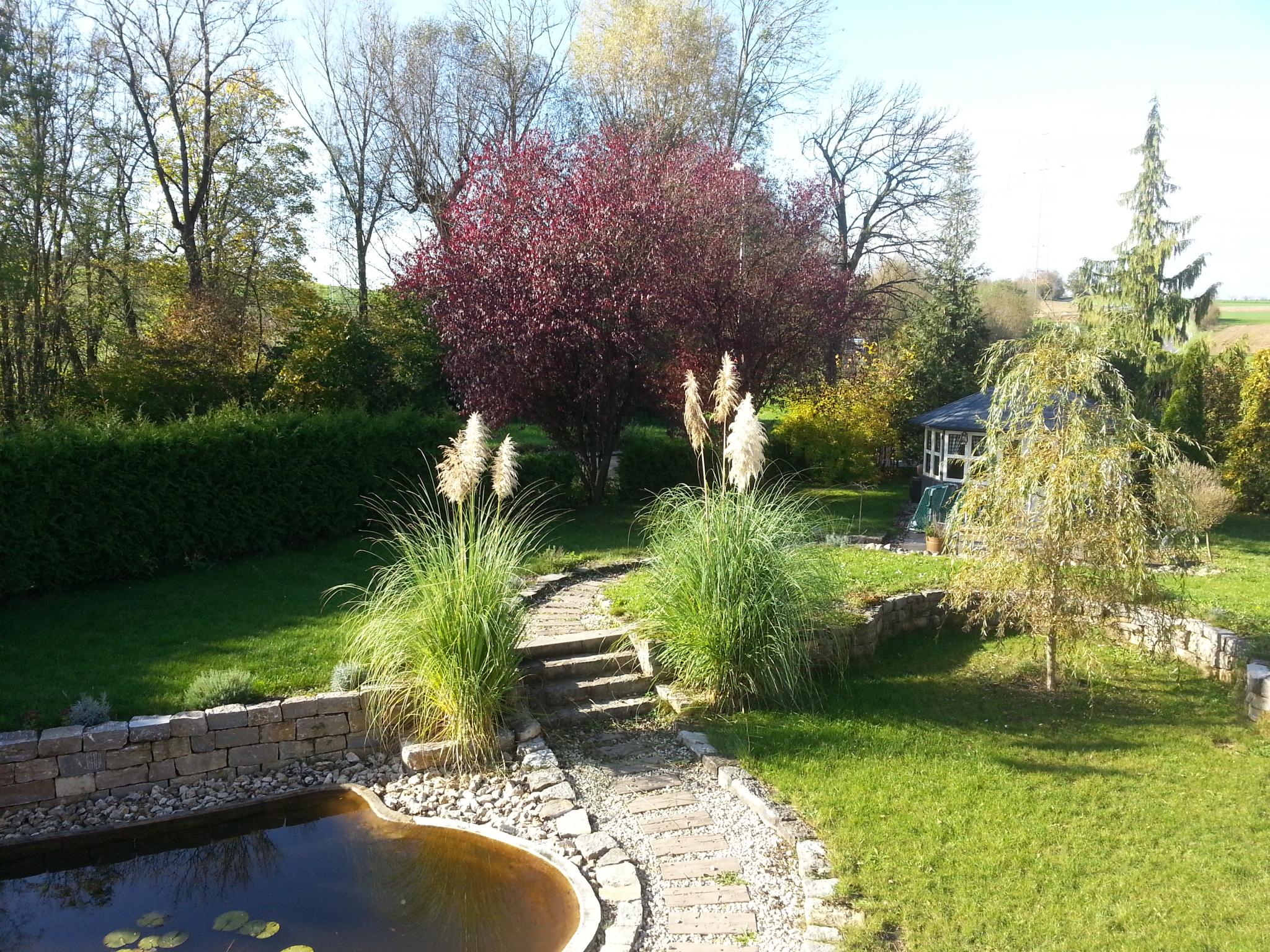 Apartment-Remseck Garten