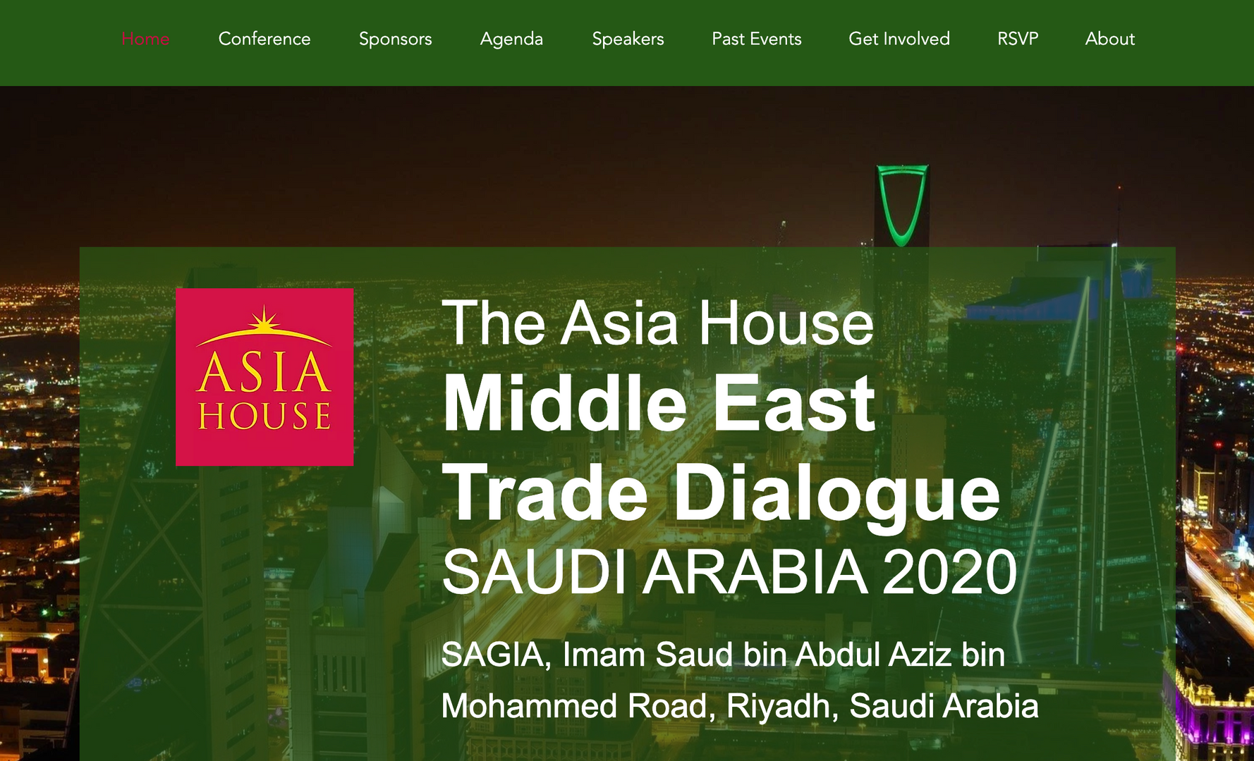 The Asia House Middle East Trade Dialogue