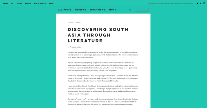 Bad Form Review - Discovering South Asia