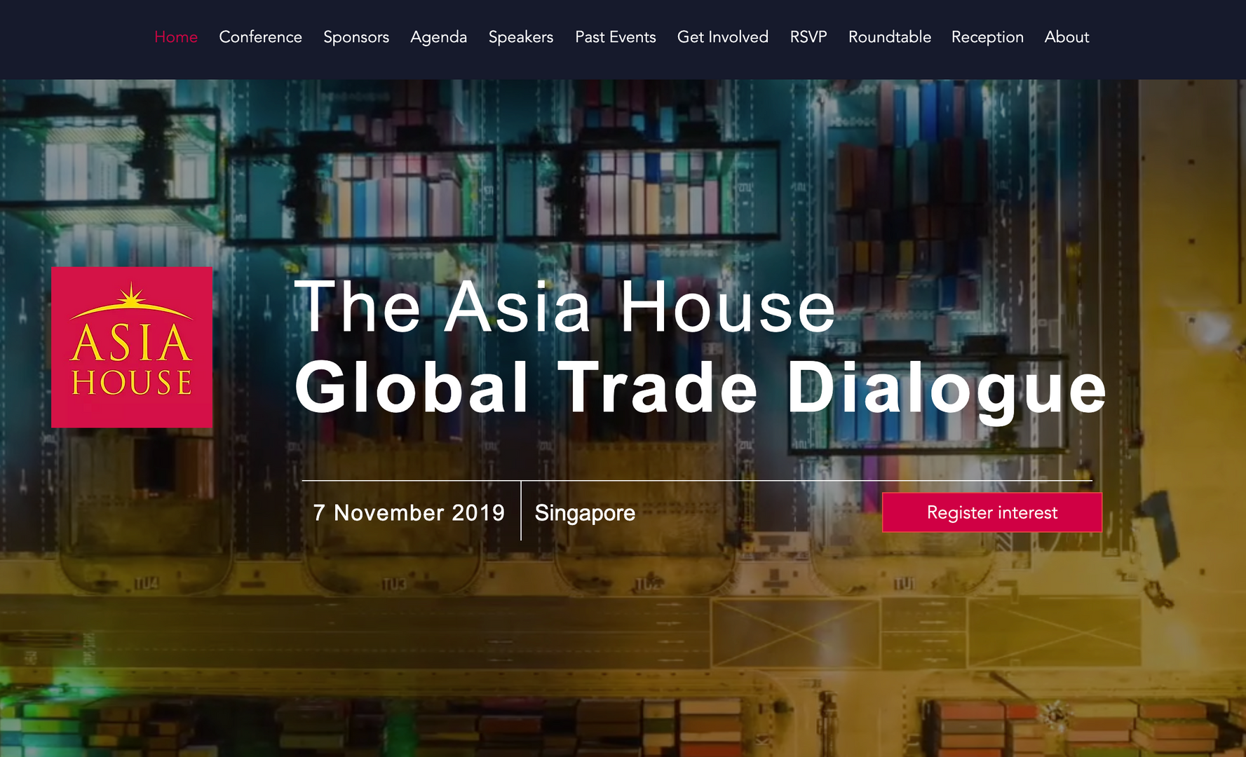 The Asia House Global Trade Dialogue