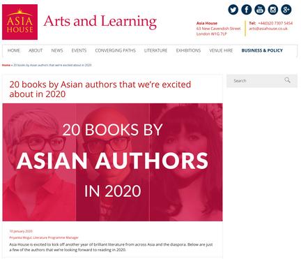 Asia House Arts