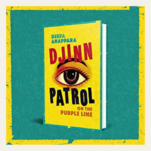 BOOK REVIEW: Djinn Patrol on the Purple Line