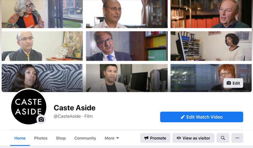 Caste Aside Facebook
