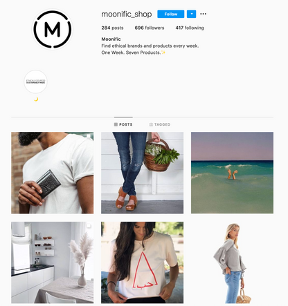 Moonific Instagram