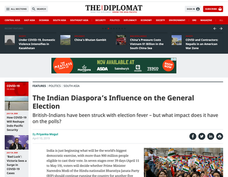 The Diplomat - Indian Elections
