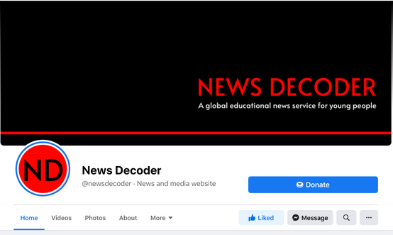 News Decoder Facebook