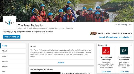 Foyer Federation LinkedIn