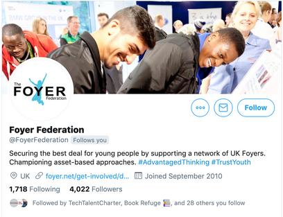 Foyer Federation Twitter