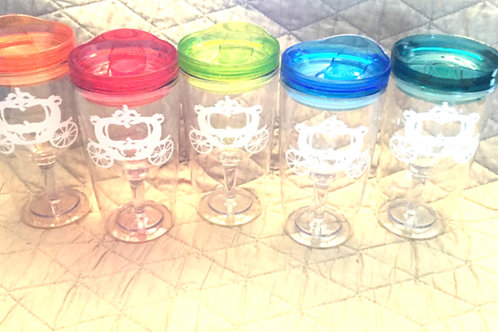 Wine Glass Sippy Cups