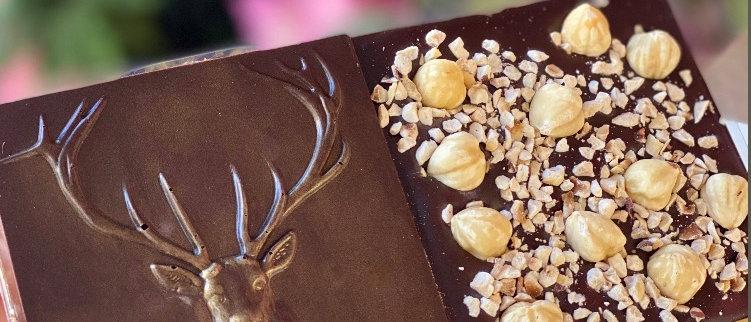 Dark Chocolate & Hazelnut Stag