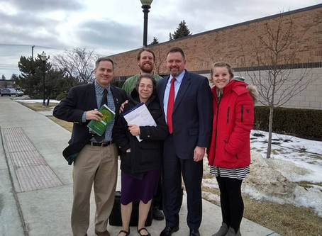 Created Equal Interviews Red Rose Rescuers Upon Their Release from Jail  12/3/17