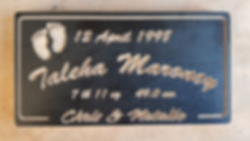 Birth Details Sign
