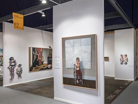 François Malingrëy à Art Paris : l'accrochage