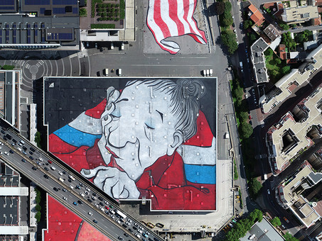 Ella & Pitr : the largest mural in Europe is in Paris!