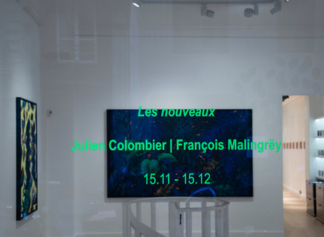 Julien Colombier | François Malingrëy: installation views