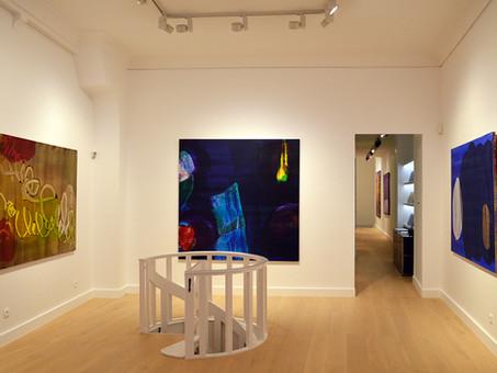 "Jan Kolata : ""Grands Formats"" (""Large Scales""), installation views"