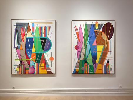 """Sixe Paredes : """"Color, Forma y Materia"""", les photos de l'exposition"""