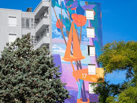 FUTILITÉ PUBLIQUE - Matth Velvet's new wall in the streets of Marseille