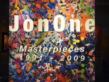 "JonOne : ""Masterpieces 1991-2009"", installation views"