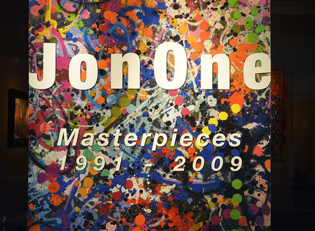 "JonOne : ""Masterpieces 1991-2009"", installation views"