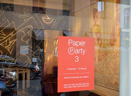 Paper Party 3 : Paul Insect, Pixel Pancho, Mist, Daniel Muñoz, Ella & Pitr