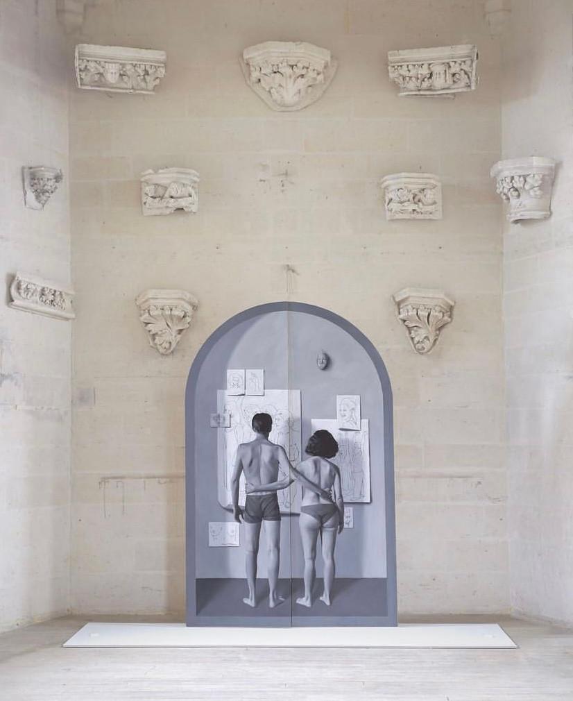 Les portes du retable du volcan, François Malingrëy