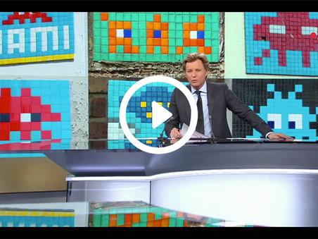 Invader : au JT de France 2