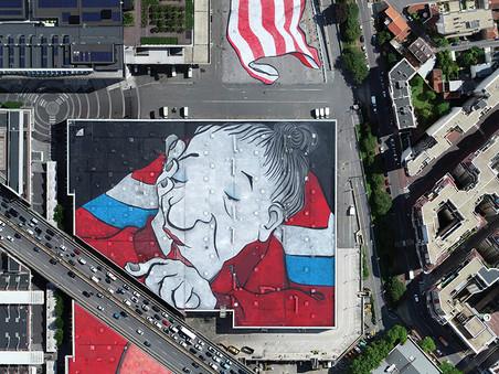 Ella & Pitr : la plus grande fresque d'Europe est à Paris !