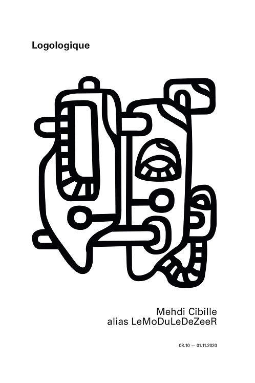 Mehdi Cibille aka LeMoDuLeDeZeeR : Logologique