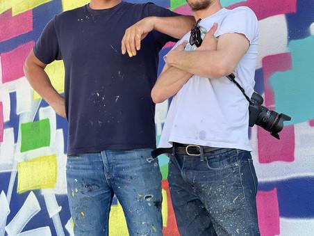 Festival d'art urbain : la vision de Lek & Sowat