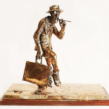 Ralph Steadman, Vintage Dr Gonzo Bronze_B