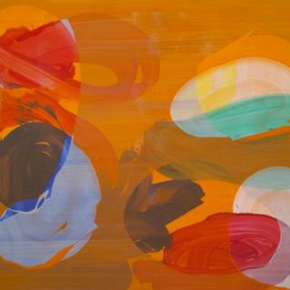 """Jan Kolata """"140.180.2014.11""""  Acrylique sur toile 140 x 180 cm 2014"""
