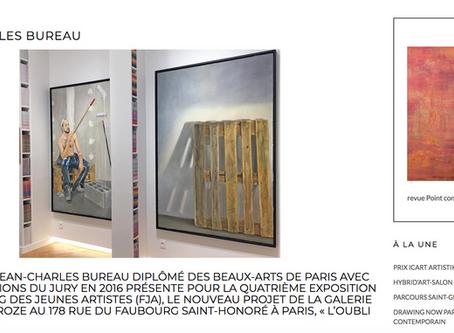 Jean-Charles Bureau : l'interview pour Point Contemporain