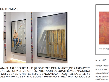 Jean-Charles Bureau : l'interview pour Point Contemporain