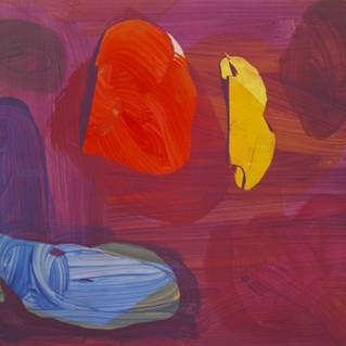 """Jan Kolata """"140.180.2014.12""""  Acrylique sur toile 140 x 180 cm 2014"""