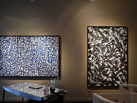 "Sowat : ""Tempus Fugit"", installation views"