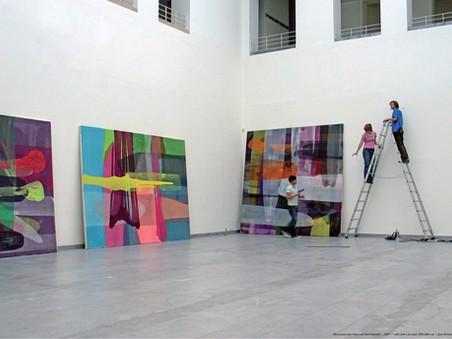 """Jan Kolata """"la peinture c'est comme le nettoyage"""""""