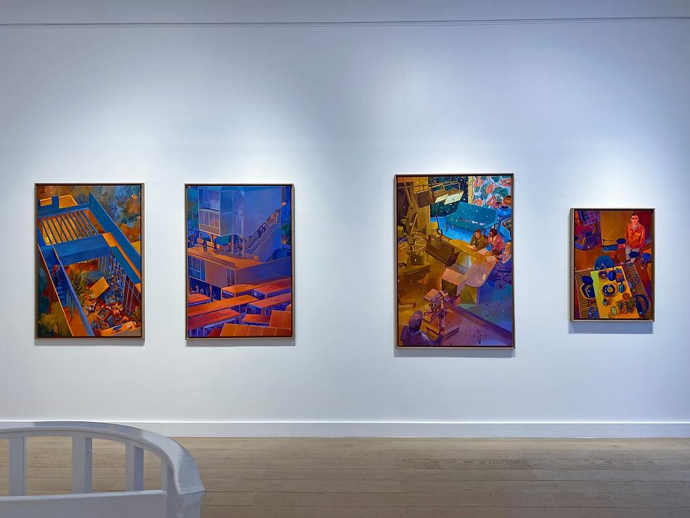 Matth Velvet, Gallery Le Feuvre et Roze