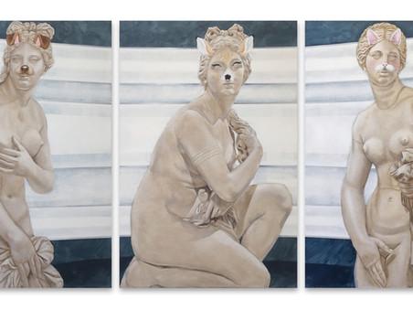 Lucile Kessil, à partir du 11 avril, 'Débordement' au Faubourg des Jeunes Artistes