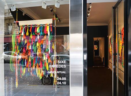 "Sixe Paredes : ""Danza Ritual"", installation views"