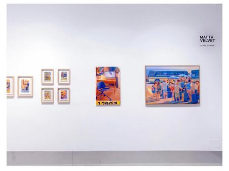 MATTH VELVET à La Causa galeria de Madrid - SUPER VITRINE