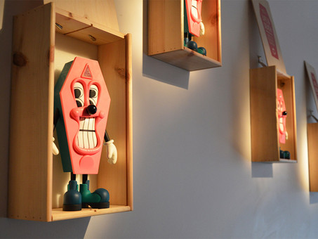 "Sickboy : ""A Small Matter of Life and Death"", installation views"