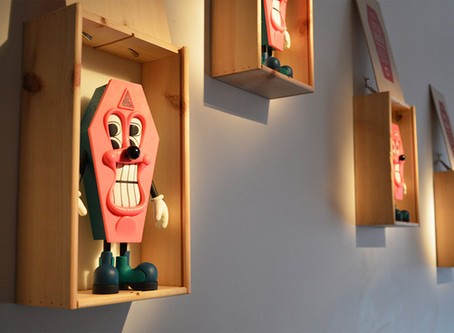 """Sickboy : """"A Small Matter of Life and Death"""", installation views"""