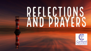Reflections and Prayers Second Sunday before Lent 7th Feb